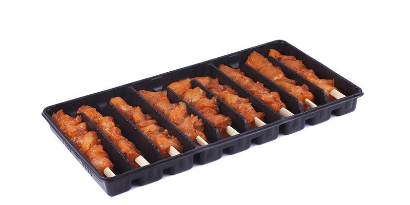 Cajun spies kip in tray